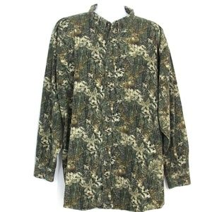 RedHead Camo Hunting Shirt Button Front